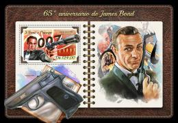 SAO TOME 2018 MNH** James Bond 007 Cinema Kino Film S/S - OFFICIAL ISSUE - DH1823 - Cinema