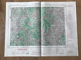 Carte 1/50000 AMPLEPUIS (Rhone) 1955 - Cartes Géographiques