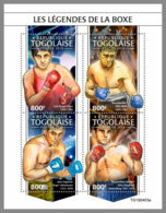 TOGO 2019 MNH Box Legends Boxlegenden M/S - OFFICIAL ISSUE - DH1944 - Boxen