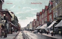 SOUTHEND On SEA - Essex -  High Street - Southend, Westcliff & Leigh
