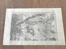 Carte Type 1889 - LYON - 1902 - Cartes Géographiques
