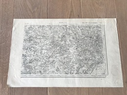 Carte Type 1889 - BOURG S.E - 1897 - Cartes Géographiques