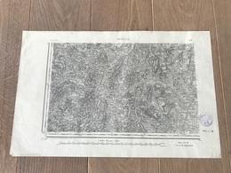 Carte Type 1889 - MACON S.O - 1897 - Cartes Géographiques