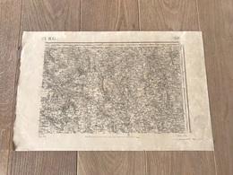 Carte Type 1889 - BOURG EN BRESSE - 1897 - Cartes Géographiques