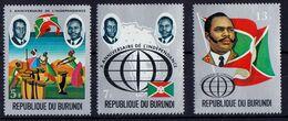 Burundi - UMM - 10th Anniversary Of Independence 1972 - Burundi