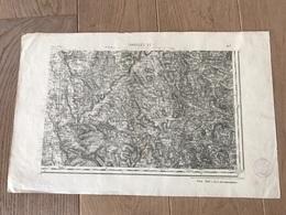 Carte Type 1889 - CHAROLLES S.E - 1897 - Cartes Géographiques