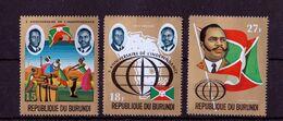 Burundi - UMM - 10th Anniversary Of Independence (Airmail) 1972 - Burundi