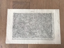 Carte Type 1889 - MACON S.E - 1897 - Cartes Géographiques