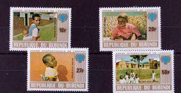 Burundi - UMM - Year Of The Child 1976 - Burundi