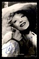 AUTOGRAPHE - EDWIGE FEUILLERE, ACTRICE FRANCAISE (1907-1998) - Signed Photographs