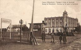 Camp D'Elsenborn - Passage à Niveau De Sourbrodt (animée Hotel 1922) - Elsenborn (camp)