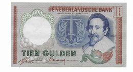 270 OLANDA 10 GULDEN 1953 - Andere