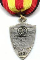 RÉPLICA Medalla División XXIII De Marzo Fiamme Nere. Italia. Málaga, Guadalajara, Bilbao, Santander, Alcañiz, Gandesa - Espagne