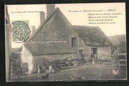 CPA Onlay, Environs De Moulins-Engilbert - Moulin Engilbert
