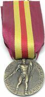 RÉPLICA Medalla Voluntarios De Guerra Italianos Y Alemanes. Legión Cóndor. CTV Corppo Di Truppe Volontariae Guerra Civil - Espagne