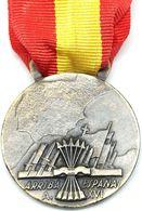 RÉPLICA Medalla Arriba España. Italia. Guerra Civil Española. 1936-1939. CTV Corppo Di Truppe Volontariae - Espagne