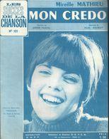 """""""Mon Credo"""" - Mireille Mathieu - Paroles De André Pascal - Musique De Paul Mauriat - Musica & Strumenti"""