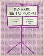 """""""Mes Mains Sur Tes Hanches"""" - S. Adamo - Paroles Et Musique De S. Adamo - Musica & Strumenti"""