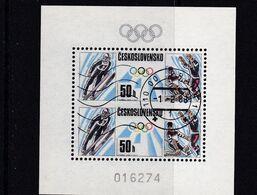 (K 6561) Tschechoslowakei, Block 74, Gest - Blocks & Sheetlets