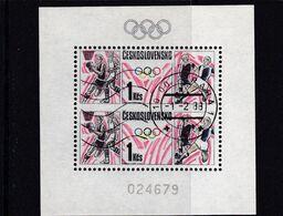 (K 6562) Tschechoslowakei, Block 75, Gest - Blocks & Sheetlets
