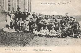 38 Kalmthout Schoolvilla Diesterweg Groepsfoto. Uitgave Hermans !! - Kalmthout
