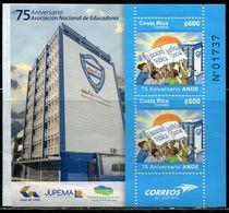 XB1172 Costa Rica 2017 Compulsory Education Building, Etc. S/S MNH - Costa Rica