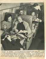 PLANCHE PEDAGOGIQUE COLLECTION AIR FRANCE AVIATION COMFORT ON BOARD   24 X 20 CM - Unclassified