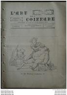 1893 L'ART DANS LA COIFFURE - BARBIER D'AUTREFOIS  - ALBERT HENNEQUIN RUE ROYALE PARIS  - COIFFURE DE SOIRÉE - Kranten