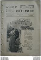 1893 L'ART DANS LA COIFFURE - CHAPEAU ROND - CHAPEAU DE FILLETTE - COIFFURE D'OPERA - LASSAILLY RUE QUINCAMPOIX - Kranten