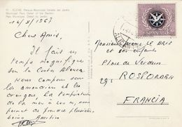 ESPAGNE SEUL SUR CARTE POUR LA FRANCE 1973 - 1931-Heute: 2. Rep. - ... Juan Carlos I