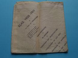 KLAS 1905 - 1911 Ten Huize Van VERCRUYSSE ( Herinnerings > Zakdoek ) Op Vigilie Van St. Jan 1966 POPERINGE ! - Bottoni Di Colletto E Gemelli