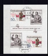(K 6564) Tschechoslowakei, Block 77 B, Gest. - Hojas Bloque