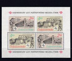 (K 6565) Tschechoslowakei, Block 79** - Hojas Bloque