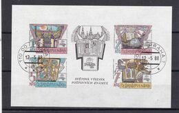 (K 6566) Tschechoslowakei, Block 80, Gest - Hojas Bloque