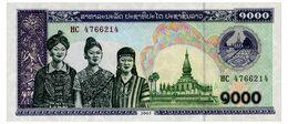LAOS 1000 KIP 2003 Pick 32Ab Unc - Laos