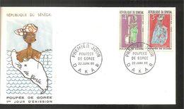 FDC 1966 Poupée De Gorée - Sénégal (1960-...)