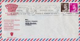 ESPAGNE AFFRANCHISSEMENT COMPOSE SUR LETTRE POUR LA FRANCE 1982 - 1931-Heute: 2. Rep. - ... Juan Carlos I