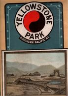 ! Yellowstone Park, Map, Northern Pacific Railway, USA - America Del Nord