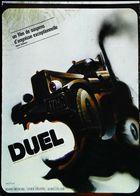 CAMION Américain TRUCK Carte Postale Affiche Du Film DUEL De Steven Spielberg - Editions Clouet - Camion, Tir