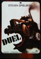 CAMION Américain TRUCK Carte Postale Affiche Du Film DUEL De Steven Spielberg - Edition Originale Publicité K FILMS - Camion, Tir