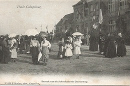 52  Kalmthout Heide Schoolvilla Diesterweg Kinderen Bezoek Aan De Schoolcolonie Uitgave Hoelen 429 - Kalmthout