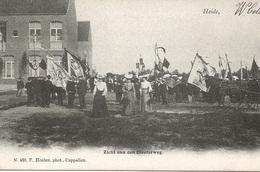 53  Kalmthout Heide Schoolvilla Zicht Aan Den Diesterweg Optocht Uitgave Hoelen 490 - Kalmthout