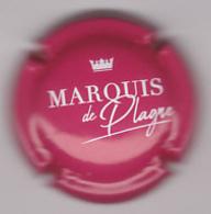 Capsule Mousseux ( MARQUIS DE PLAGNE , Rose Et Blanc ) {S34-20} - Sparkling Wine