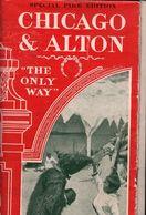 !  Exposition Universelle, 1904, Weltausstellung, Worlds Fair St. Louis, USA, Chicago + Alton Railway - Mondo