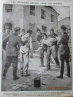 Guerre 14-18  Ouvrier Belge Belgique  Marqué à L épaule   Par Les Allemands  Sto - Ohne Zuordnung