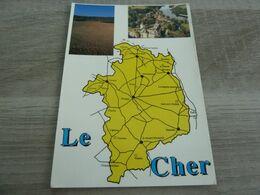 DEPARTEMENT LE CHER - MULTIVUES - - Bourges