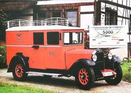 CAMION BAUJAHR De 1936 - Camionnette Postale Allemande - Carte Maximum Card 1983 Bonn - Camion, Tir