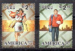 Serie De Perú Nº Yvert 1107/08 ** UPAEP - Peru