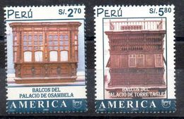 Serie De Perú Nº Yvert 1303/04 ** UPAEP - Peru
