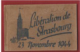 Carnet De 10 Vues De La Libération De Strasbourg En 1944 - 1939-45